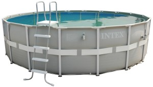 Intex Aufstellpool Frame Pool Set Ultra Rondo