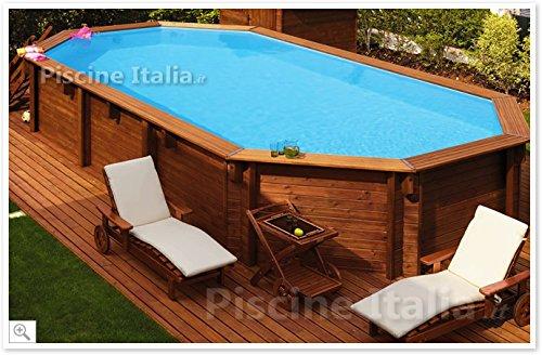 Holzpool -Schwimmbecken Aus Holz - Holzoptik Pool